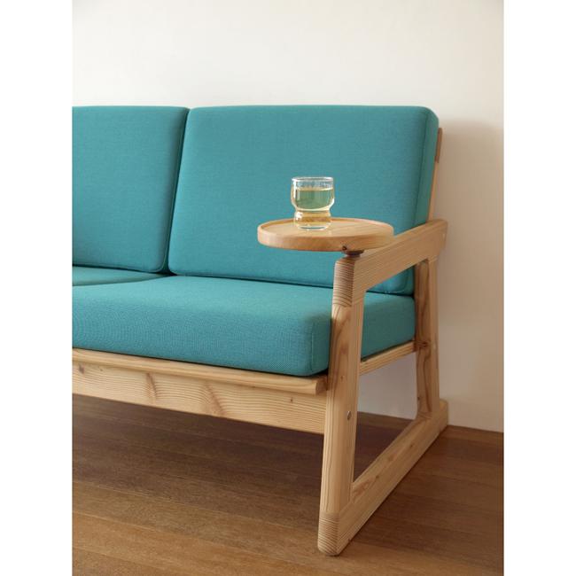 ほんとソファ/木製フレームのソファ